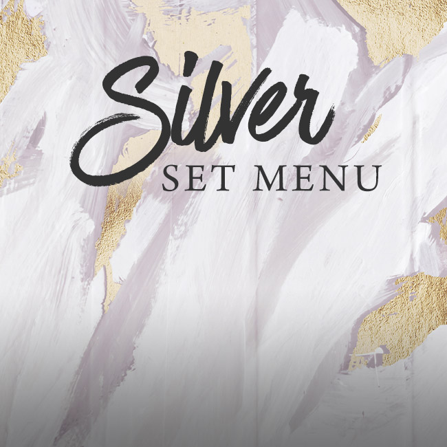 Silver set menu at The Green Man
