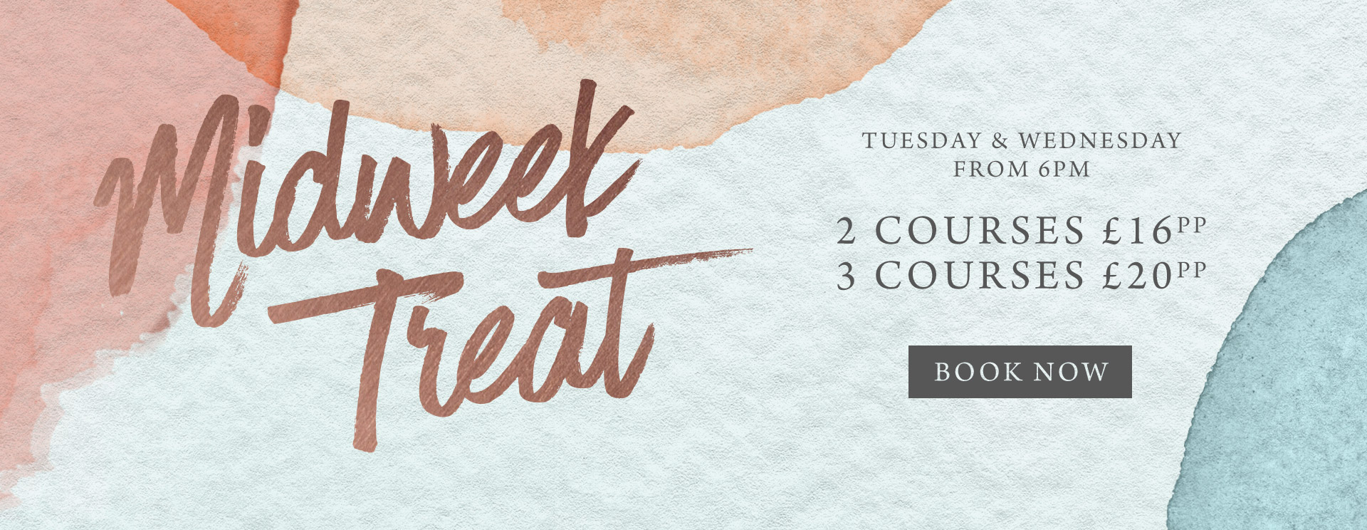 Midweek treat at The Green Man - Book now